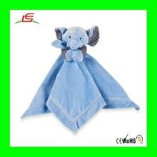 LE B06 high quality wholesale animal elephant plush baby blanket