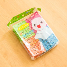 24PCS Colorful Plastic Clip Clothes Peg