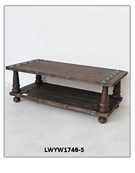 Luckywind FSC-Wood French style Vintage table