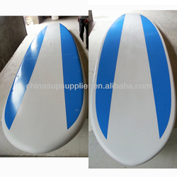 white blue color painting sup longboard/ sup boat / sports longboard