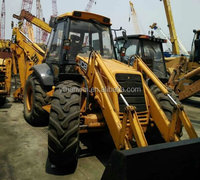 Used 3CX backhoe loader high quality with good engine