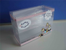 2015 Clear plastic box for cell phone case crystal box packaging