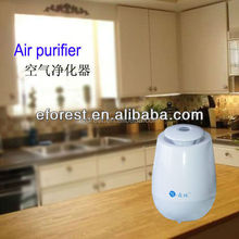 Desktop Activated Carbon Filter Air Purifier with ozone and negative ions