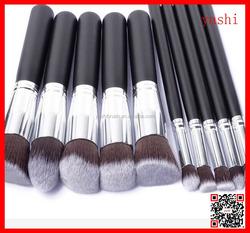 Alibaba Professinal 10pcs Kabuki Makeup Brush Set Cosmetic Foundation for Black Friday