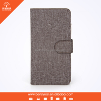 New arrival Fabric & PU protective phone case for iPhone 6