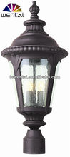 Turkey style lighting fixtures waterproof decorative pillars with glass main entrance lamps(DH-4273)