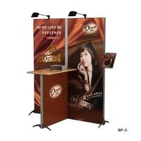 Aluminum advertising equipment market promotion booth