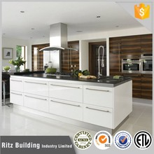 Modern uv mdf panel kitchen cabinet
