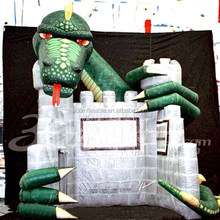 Custom cool design dragon inflatable trade show booth