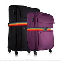 Customized adjustable fasten travel luggage strap