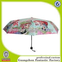 Cute Design Chopper and Nami Character Printing Stock Umbrella