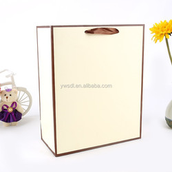Foldable cheap good quality paper shopping bag for clothes,