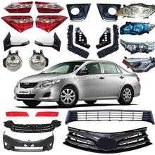 Auto spare parts body parts for TOYOTA Corolla head lamp fog lamp bumper griller toyota body kits