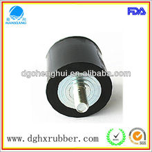 Eco-friendly 2012 hot selling manufacturer made anti-vibration rubber feet with screw