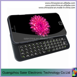 hot sale leather cover full qwerty keyboard for iphone 5c bluetooth keyboard case