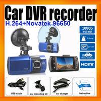 1080P Car DVR Recorder With G-Sensor Novatek 96220 HDMI output H.264