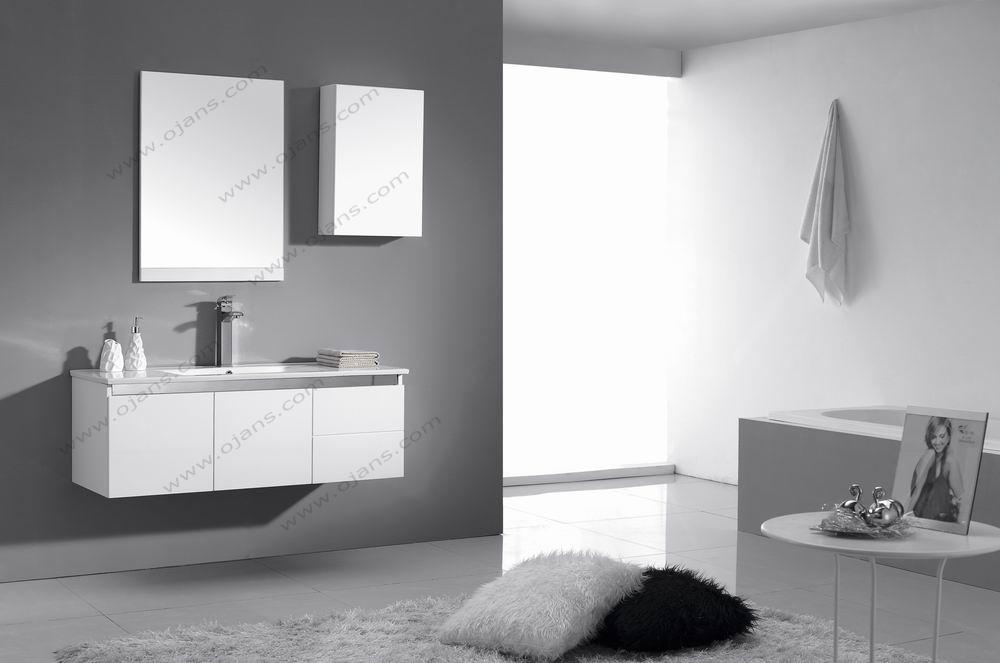 900mm 높은 광택 흰색 현대적인 욕실 세면대 캐비닛-욕실 세상만사 ...