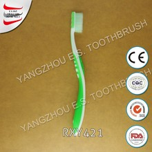 OEM producton colored oral fresh adult group toothbrush