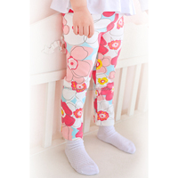 20164 wholesale boutique clothing butterfly pinted baby leggings soft material