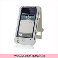 DACOO TPU Flip Case for iphone 4S White