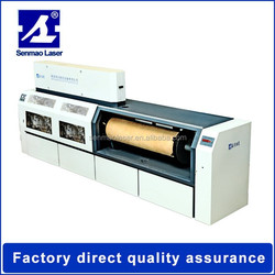Production High Power CNC CO2 Round Mold Laser Name Cutting Machine