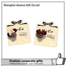 Fancy Good quality hot sale cute cartoon stud earrings with unique design