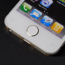 Metal Aluminum Home Button Sticker For iphone 5 5S 4S iPod iPad