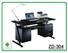 metal frame computer desk table design for office