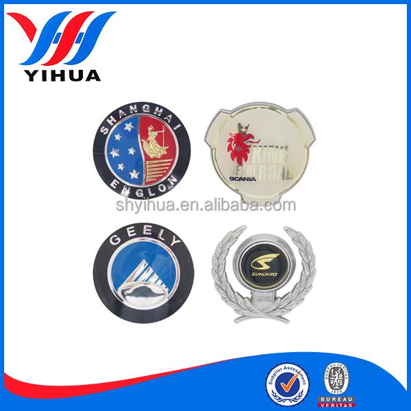 custom chrome car emblem