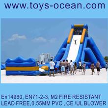 2015 new design super hippo slide /inflatable hippo slide/hippo water slide