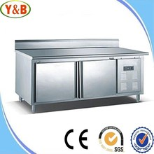 Industrial general with horizontal workbench deep freezer