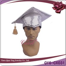 the popular sliver paillette oktoberfest carnival hat for scholar
