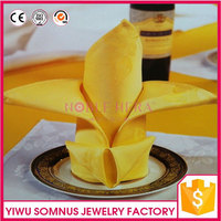 disposable napkin / recycling fabric square clean mouth cloth table napkin B030