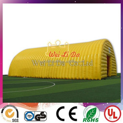 Inflatable Large Tent Inflatable Event Tent Inflatable Yellow and Blue Tent