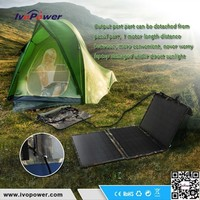 Rechargeable Detached Solar Charger Bag