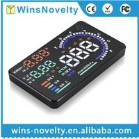 "best selling products in europe 5.5"" Vehicle GPS OBD2 Head Up Display speedometer HUD A8 Car HUD display"