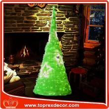 Chinese factory 1.5m Giant led light pvc christmas tree