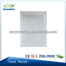 White detox foot patch 2014 hot sale