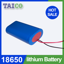 High Capacity 1S2P 3.7V 4000mah 18650 li-ion battery packs