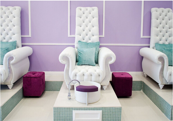 Luxury And Cheap Queen Chair Manicure Chair Nail Salon