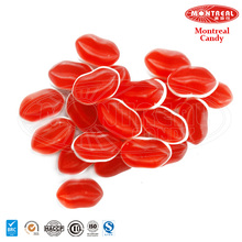 Lip shape confectionery candy sweets