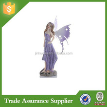 Delicate Purple Painted Resin Fairy Figurines Wholesale For Gardens Gifting And Creating