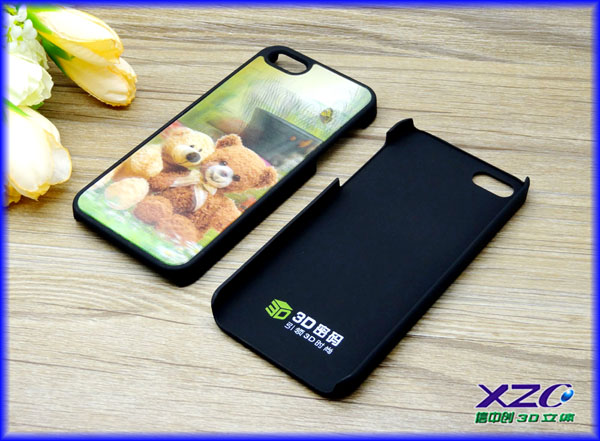 competitive factory supply popular 3D flash case for iphone 5 case