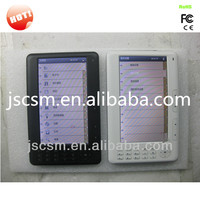 china manufacturer! cheap ebook readers 7 inch with black and white color option,Rockchip solution,4G memory, 7-8hour to play