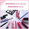 cosmetic with private label lady cosmetics eyeshadow cosmetic brush set aluminum in golden