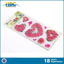 High Cost Performance Cartoon 3D Art Card Handmade Stickers