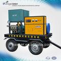34l/min, psi 2030 el óxido de limpieza con chorro de agua de la máquina de alta presión máquina de coser de equipos de limpieza