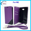 China wholesale flip magnet cover case for Sony Xperia M2, cell phone case for Sony Xperia M2 with card holder