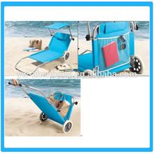 Beach Chair With Wheels/Folding Canopy Beach Chair With Wheels/Folding Beach Chair With Wheel and Sunshade Magazine Bag