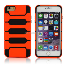 New arrive hot sale PC and TPU material cover case for iphone 6,mobile phone cover case for iPhone6